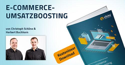 Deckblatt E-Book: Umsatzboosting