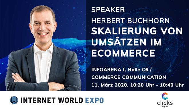 Herbert- Buchhorn spricht auf der IW Expo 2020