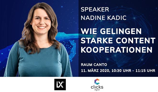 contentixx - Speaker Nadine Kadic