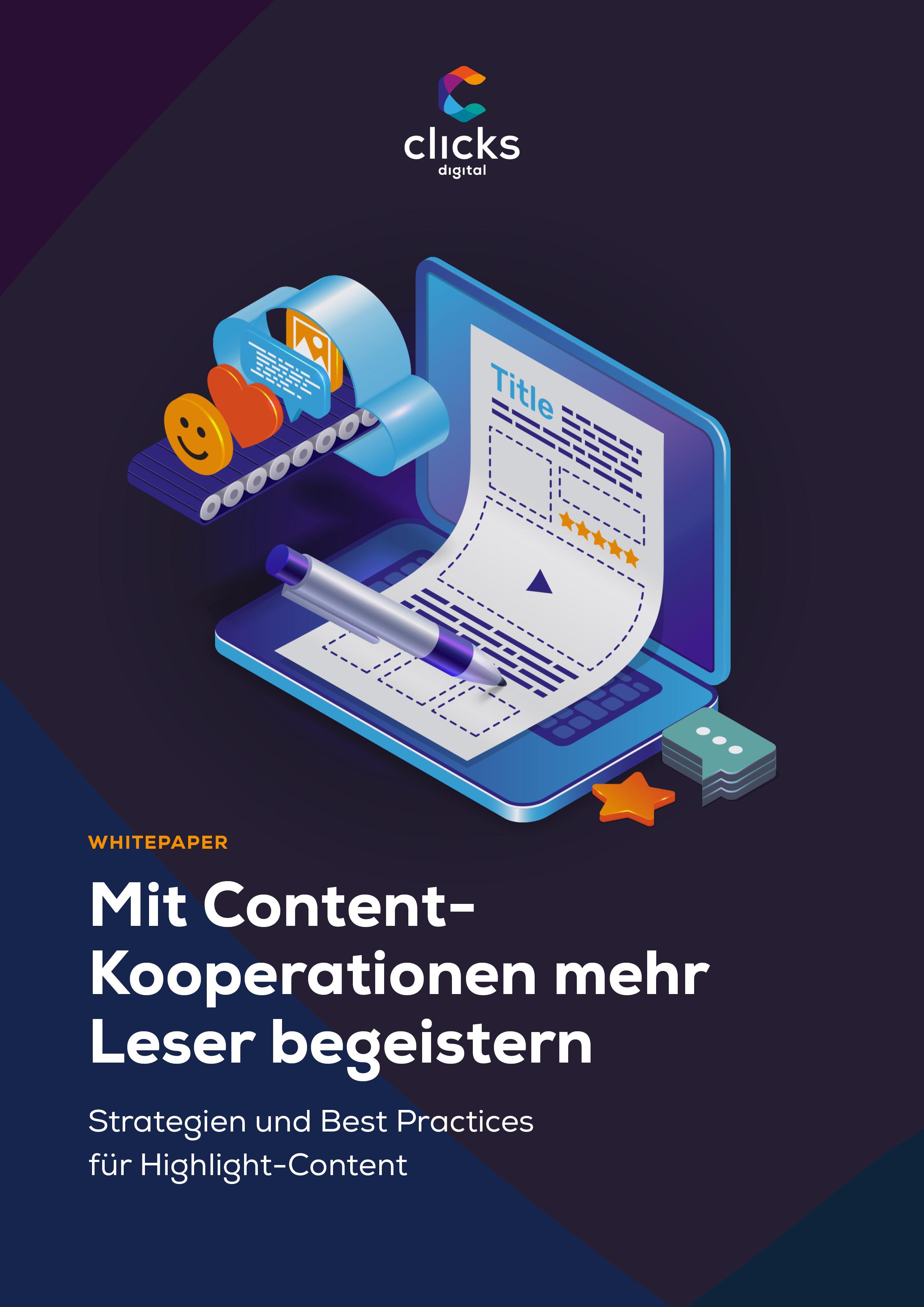 Deckblatt Whitepaper Content Kooperationen