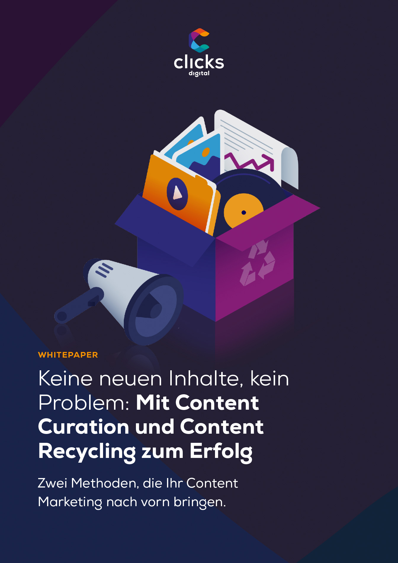 Deckblatt Content Recycling und Curation