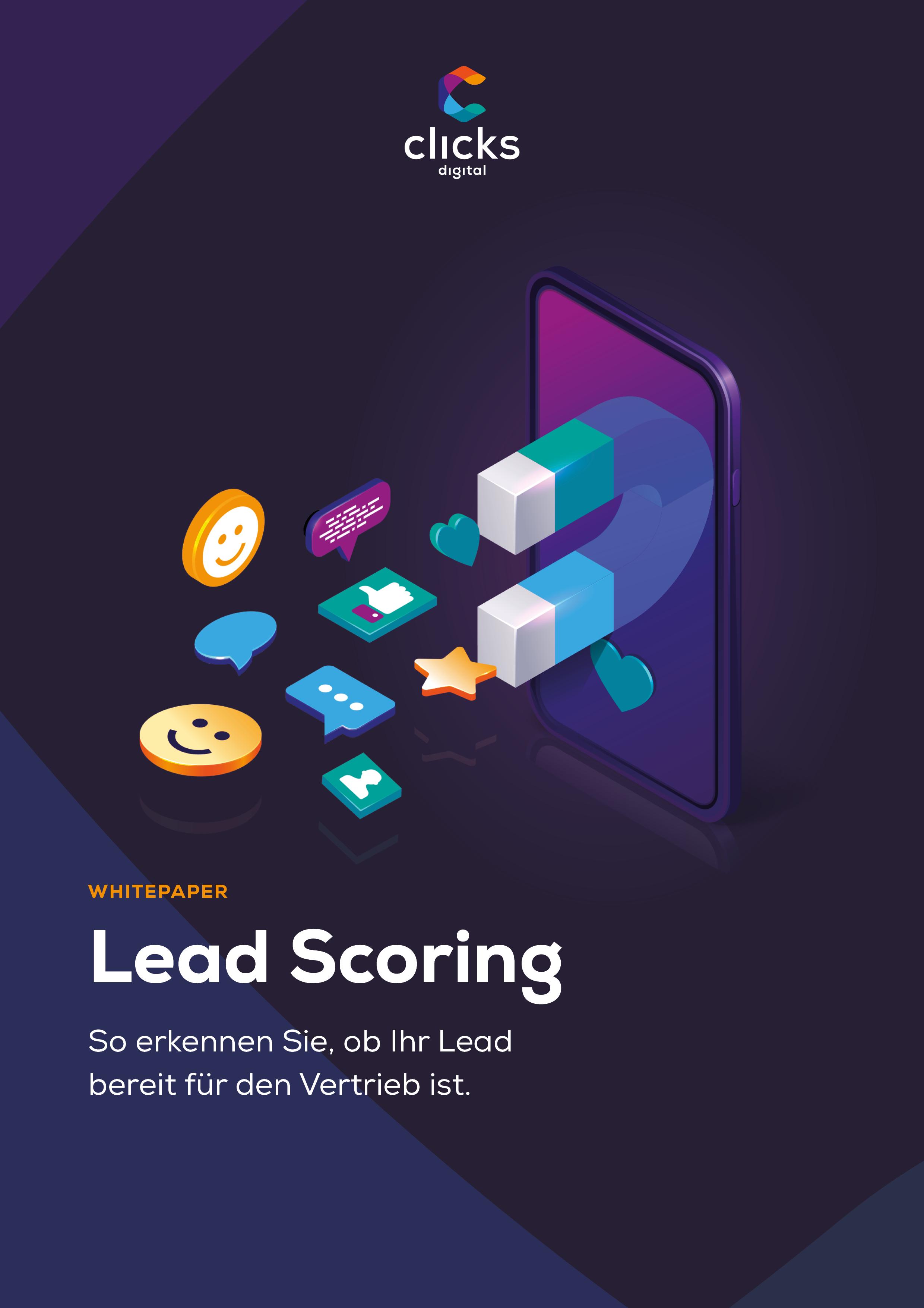 Deckblatt Lead Scoring