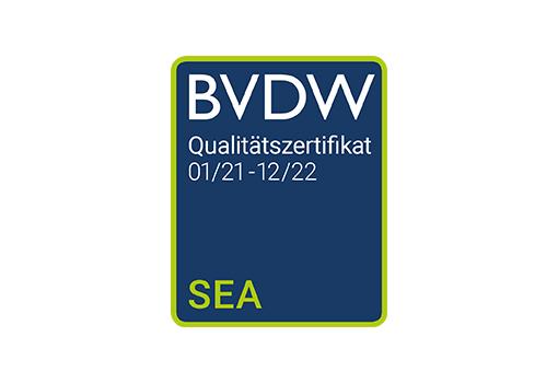SEA-Zertifikat BVDW bis 2022